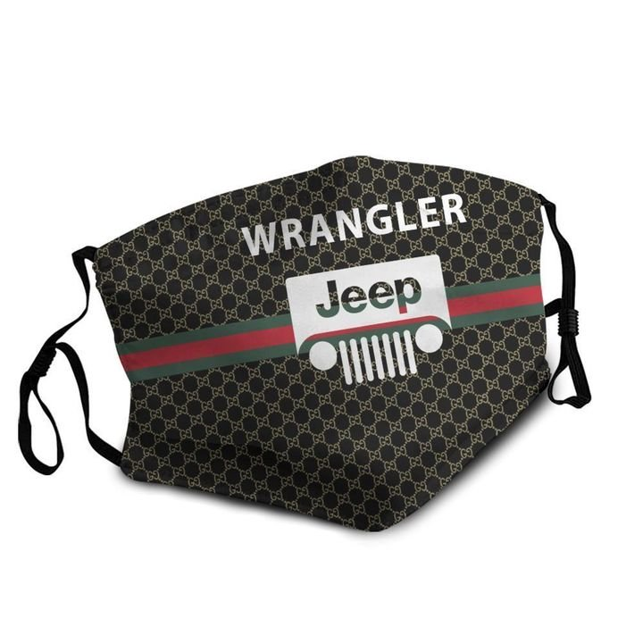 Jeep wrangler symbol anti-dust cotton face mask 4