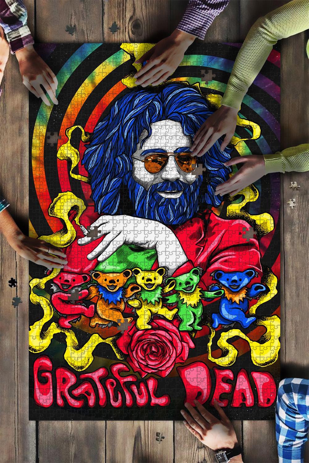 Jerry garcia grateful dead jigsaw puzzle 1