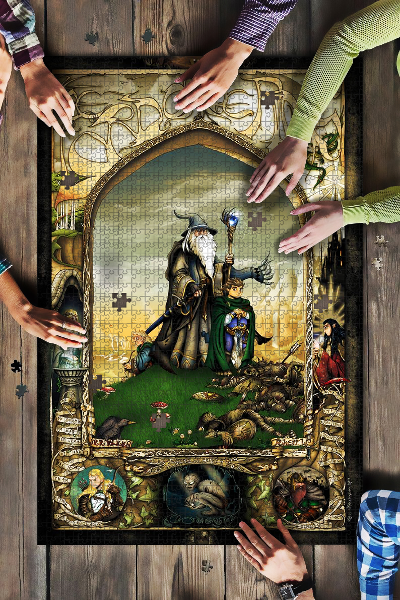 Lord of the rings jigsaw puzzle 1