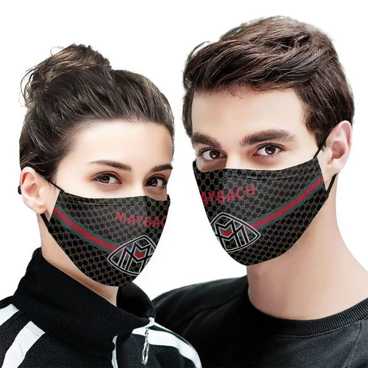 Maybach symbol anti-dust cotton face mask 1