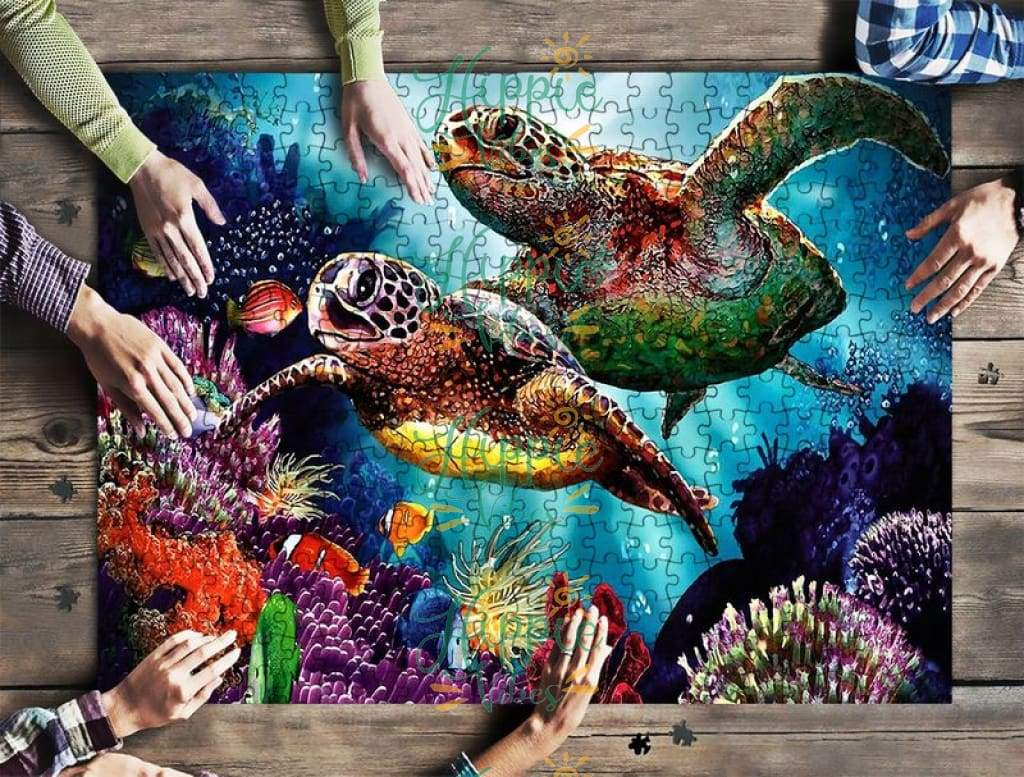 Save sea turtles jigsaw puzzle 1