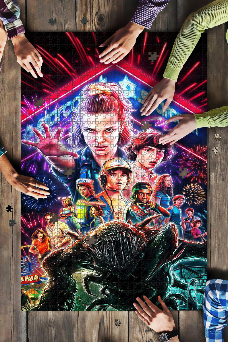 Stranger things 2 jigsaw puzzle 1