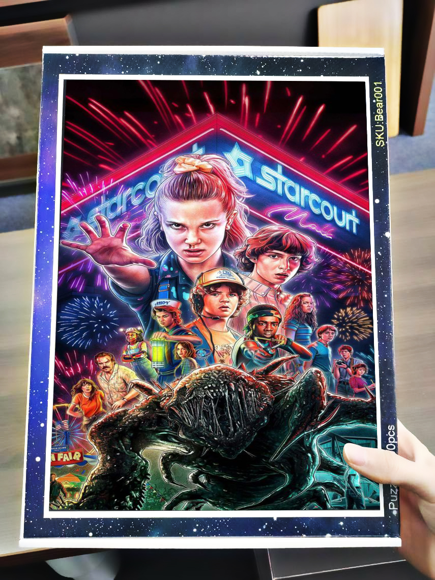Stranger things 2 jigsaw puzzle 4