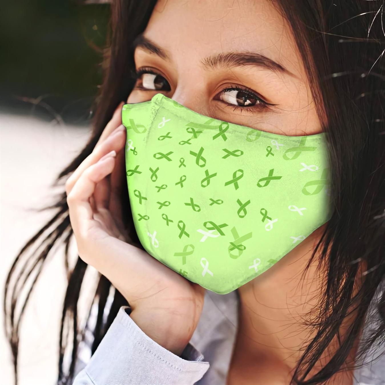 Sunflower celiac disease awareness anti-dust cotton face mask 4