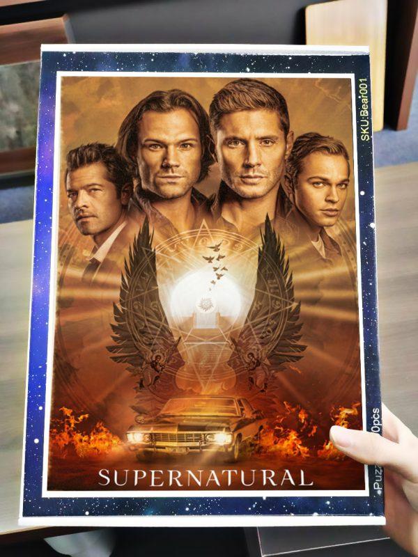 Supernatural tv series jigsaw puzzle 3