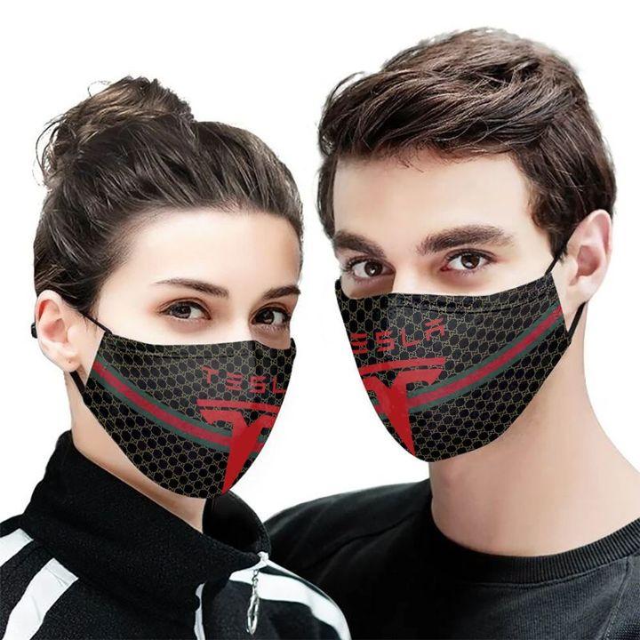 Tesla motors symbol anti-dust cotton face mask 2