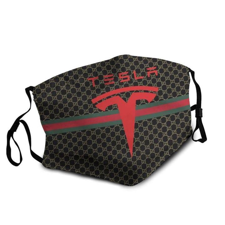 Tesla motors symbol anti-dust cotton face mask 4
