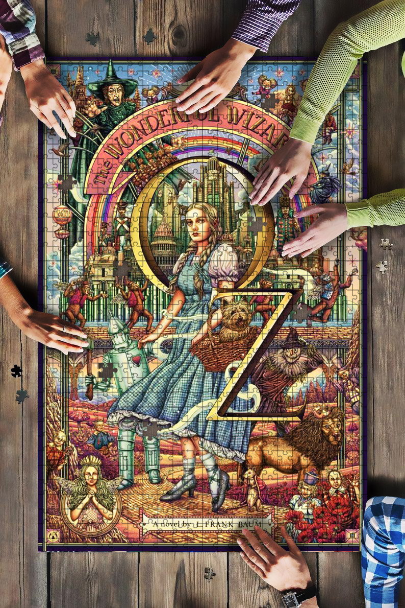 The wonderful wizard of oz jigsaw puzzle 1
