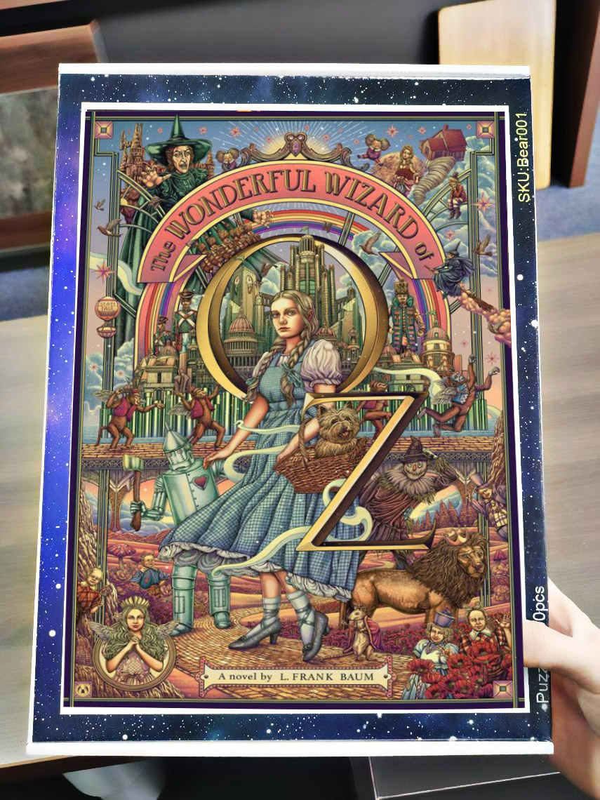 The wonderful wizard of oz jigsaw puzzle 4
