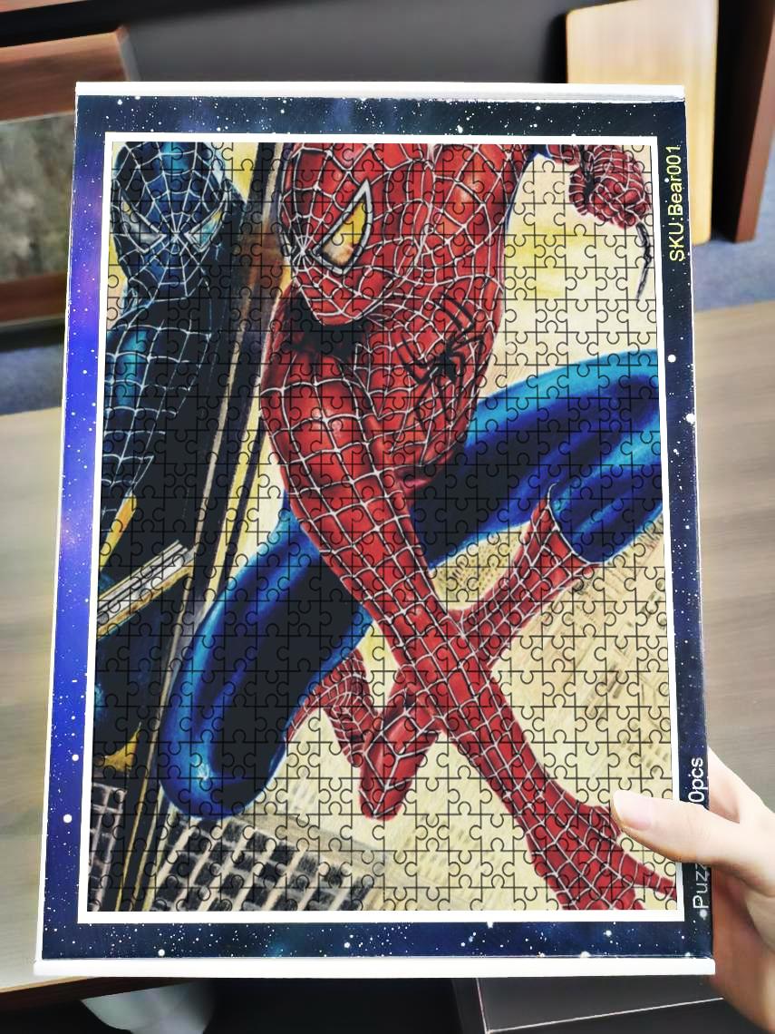 Venom spider-man 3 jigsaw puzzle 4