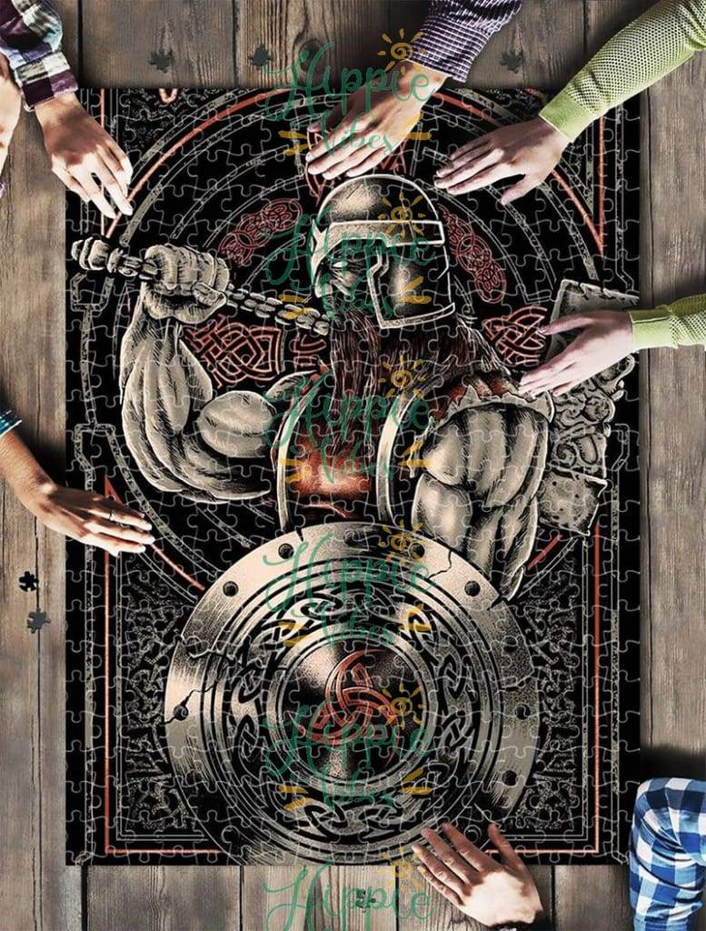 Viking warrior jigsaw puzzle 2