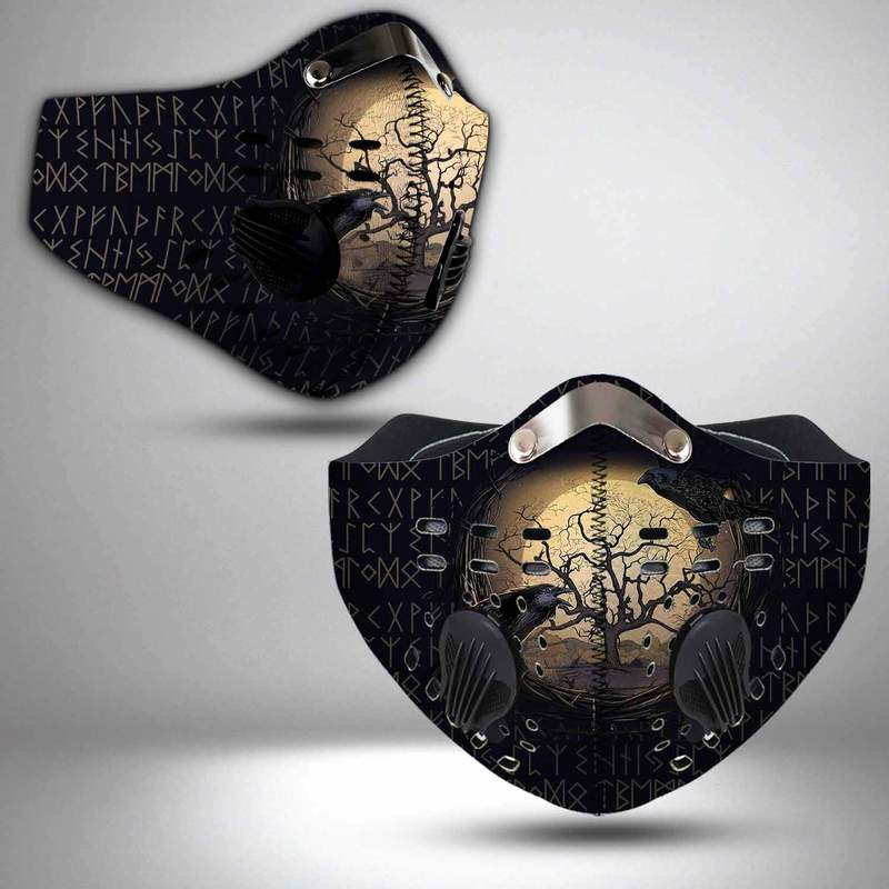 Viking yggdrasil filter activated carbon face mask 2