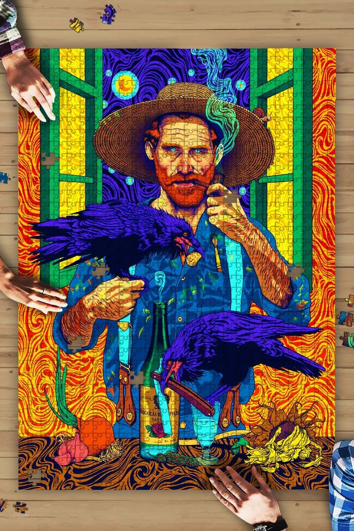 Vincent van gogh by nicolas rosenfeld jigsaw puzzle 2