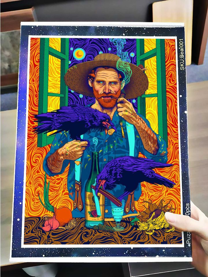 Vincent van gogh by nicolas rosenfeld jigsaw puzzle 4