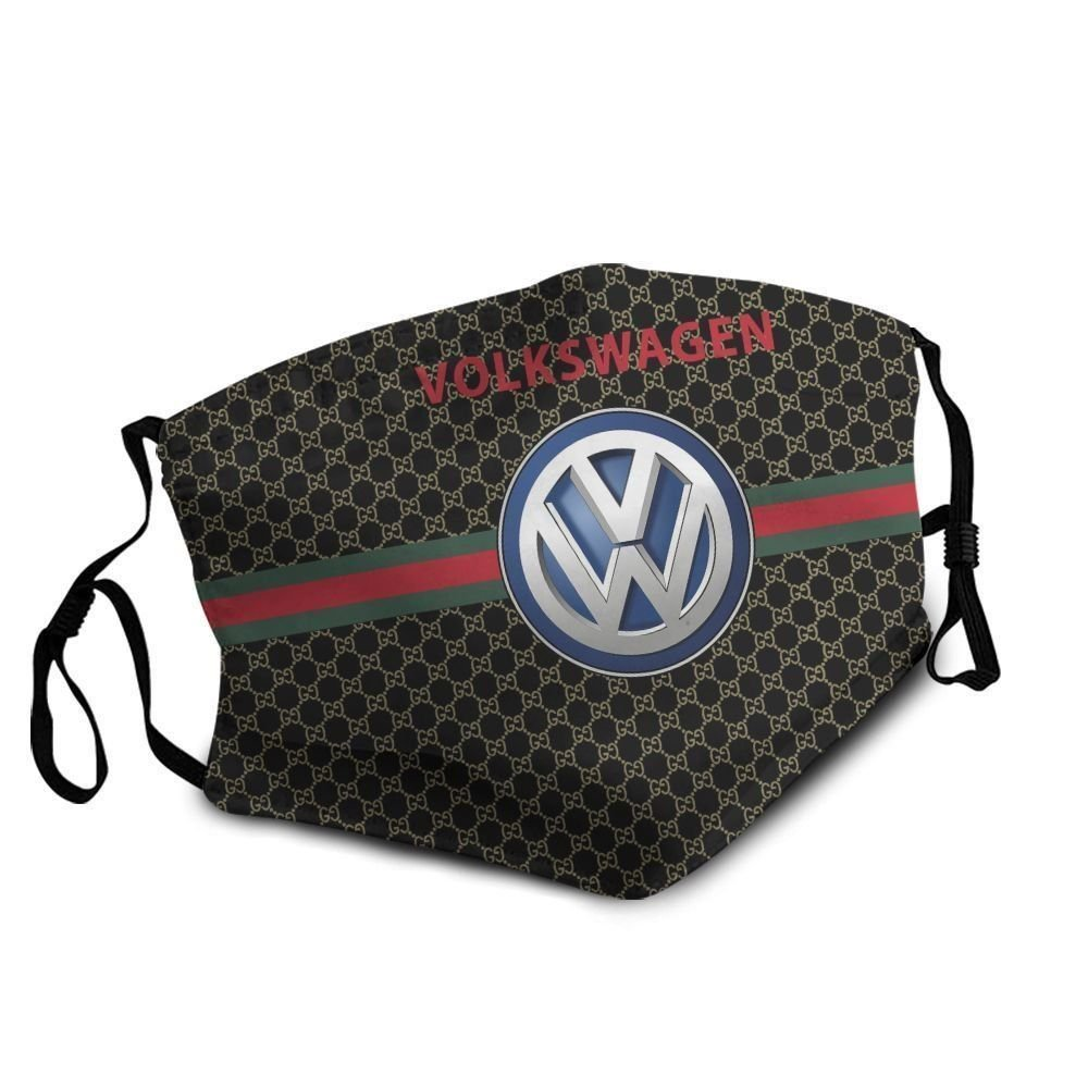 Volkswagen symbol anti-dust cotton face mask 4