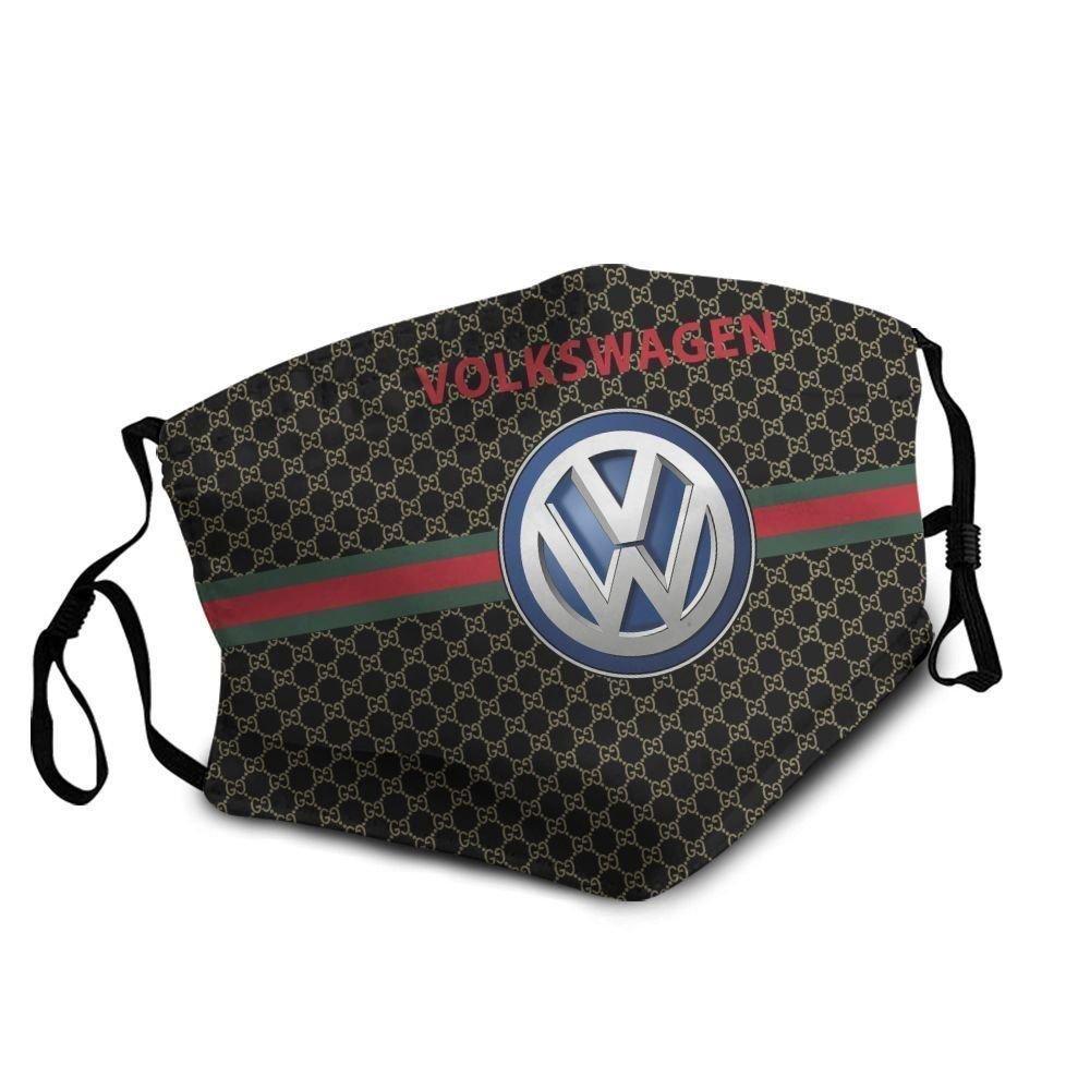 Volkswagen symbol anti-dust cotton face mask 4