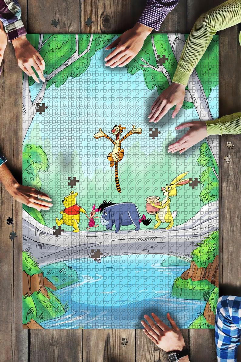 Winnie the pooh jigsaw puzzle 1
