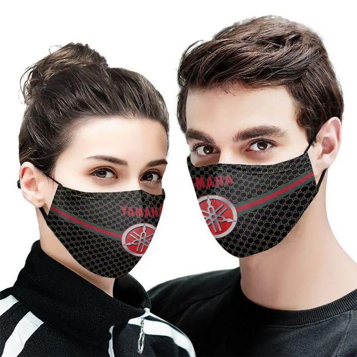 Yamaha symbol anti-dust cotton face mask 1