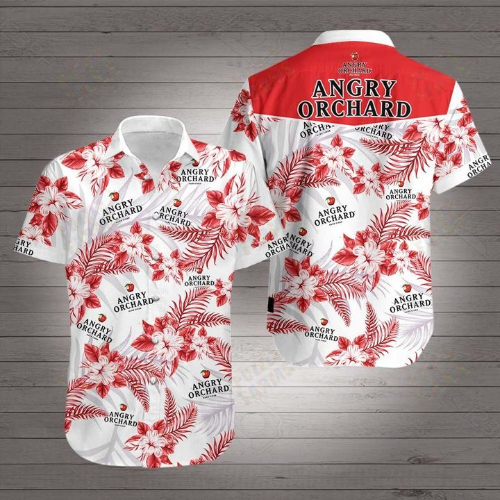 Angry orchard hawaiian shirt 2