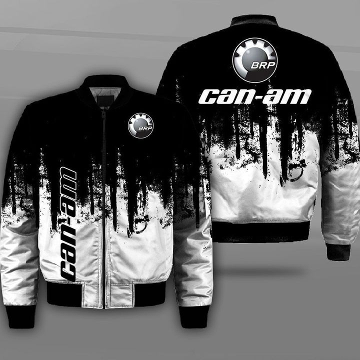 Can-am motorcycles logo full printing bomber