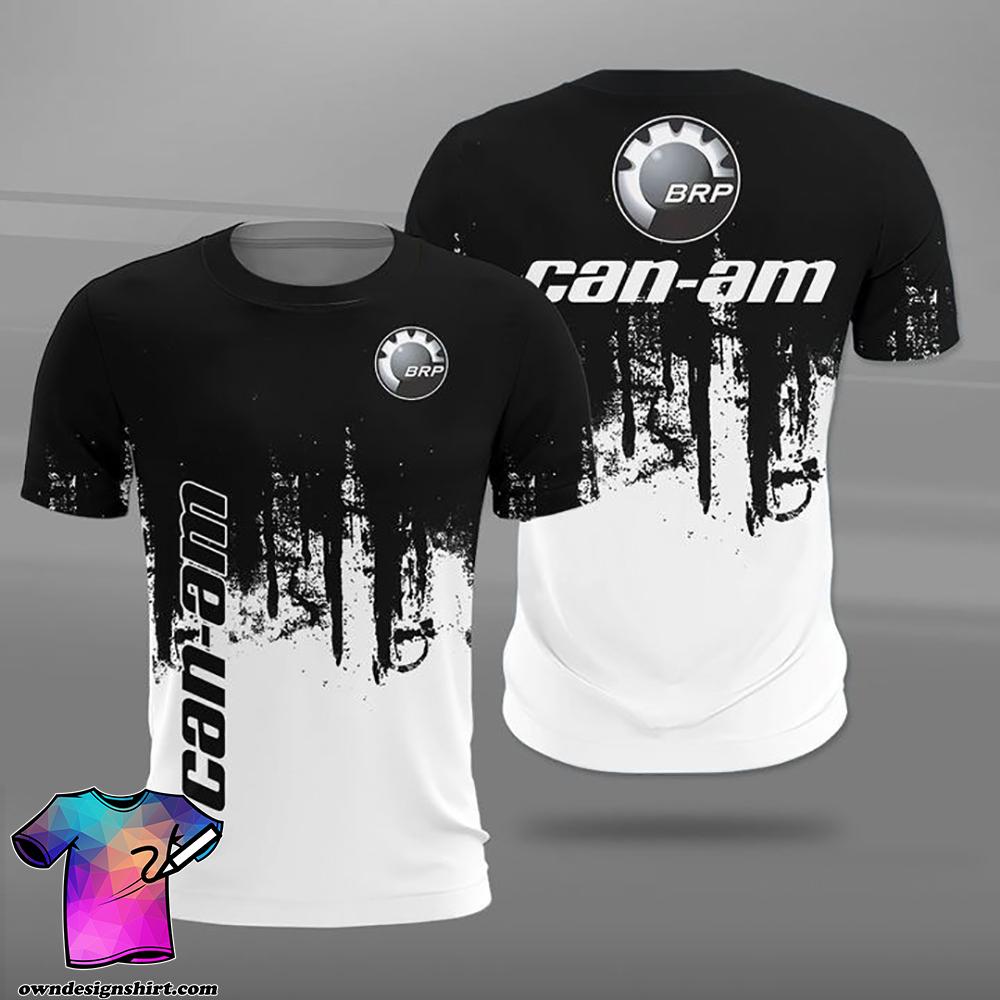 Can-am motorcycles logo full printing shirt