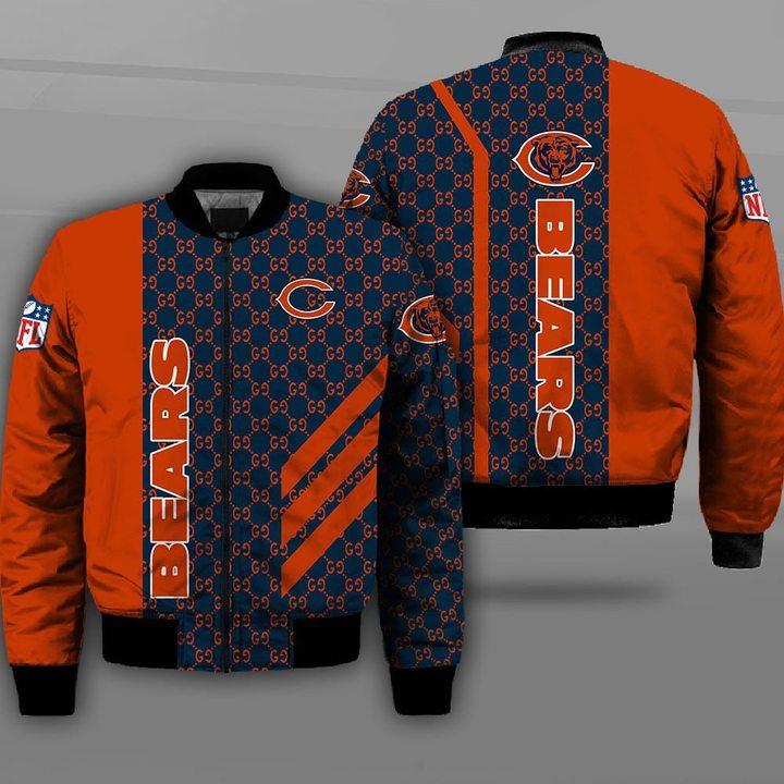 Chicago bears football team full printing bomber