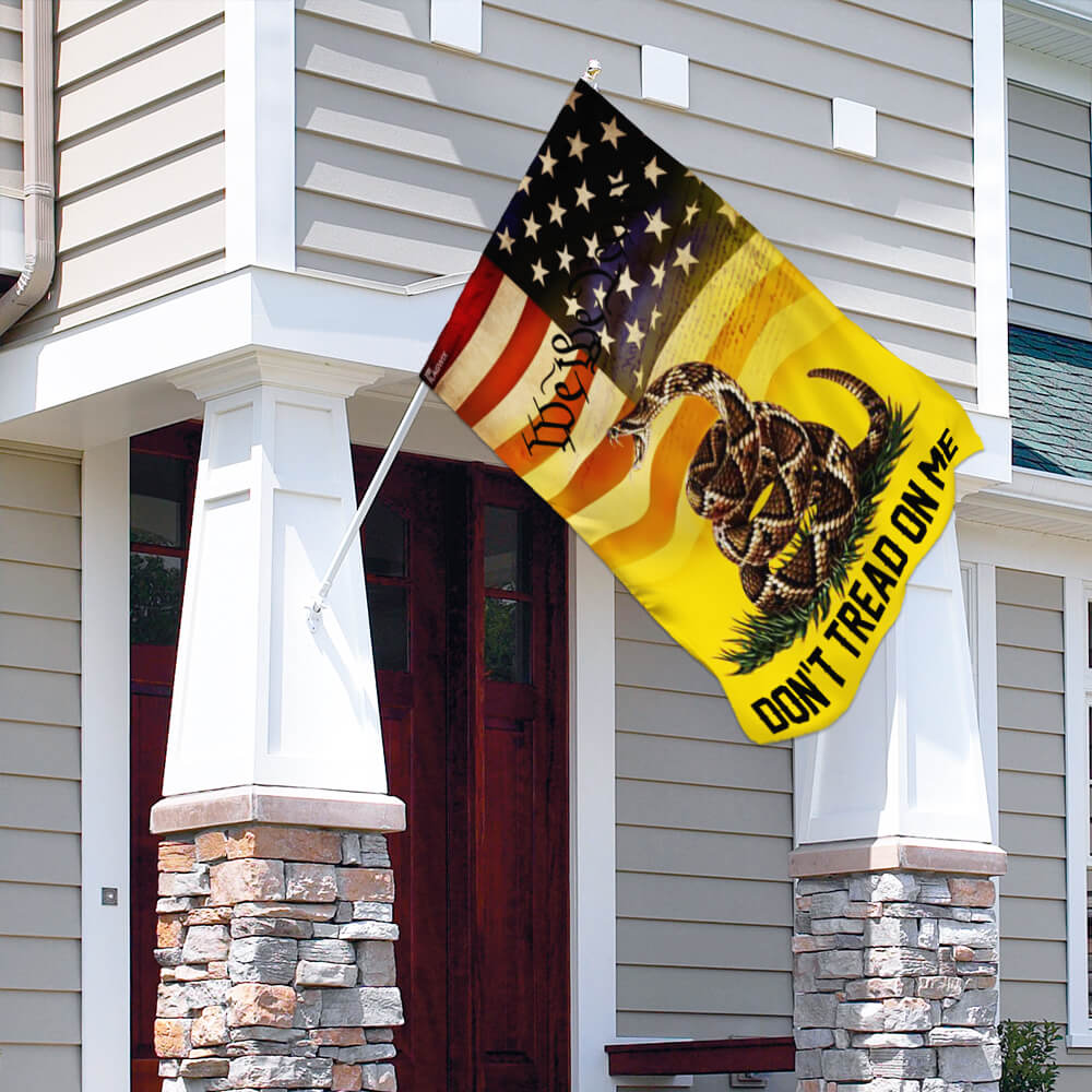 Don't tread on me we the people libertarian gadsden flag 3