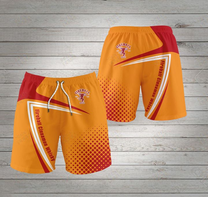 Fireball cinnamon whisky shorts 3