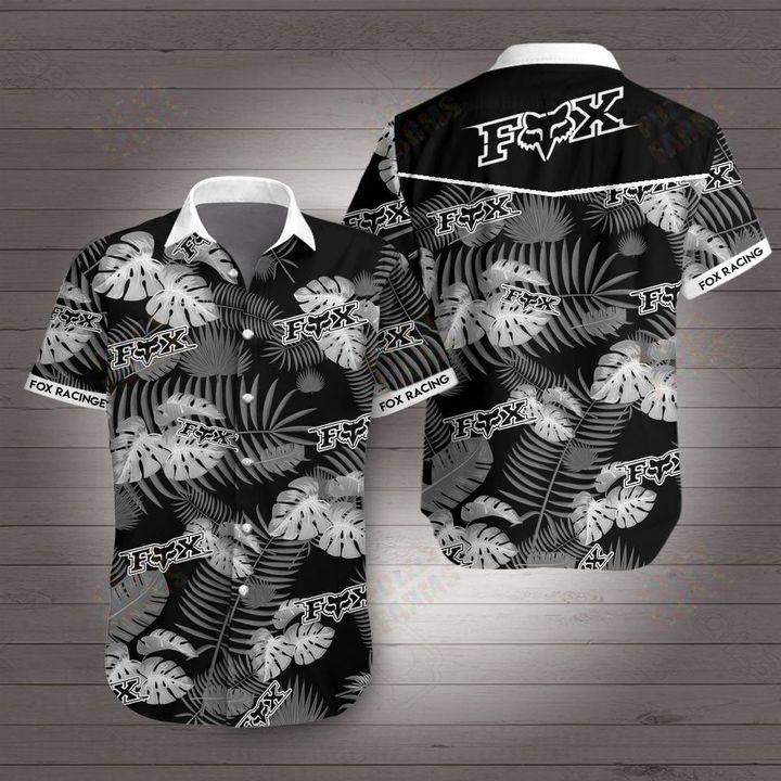 Fox racing fox head inc hawaiian shirt 1