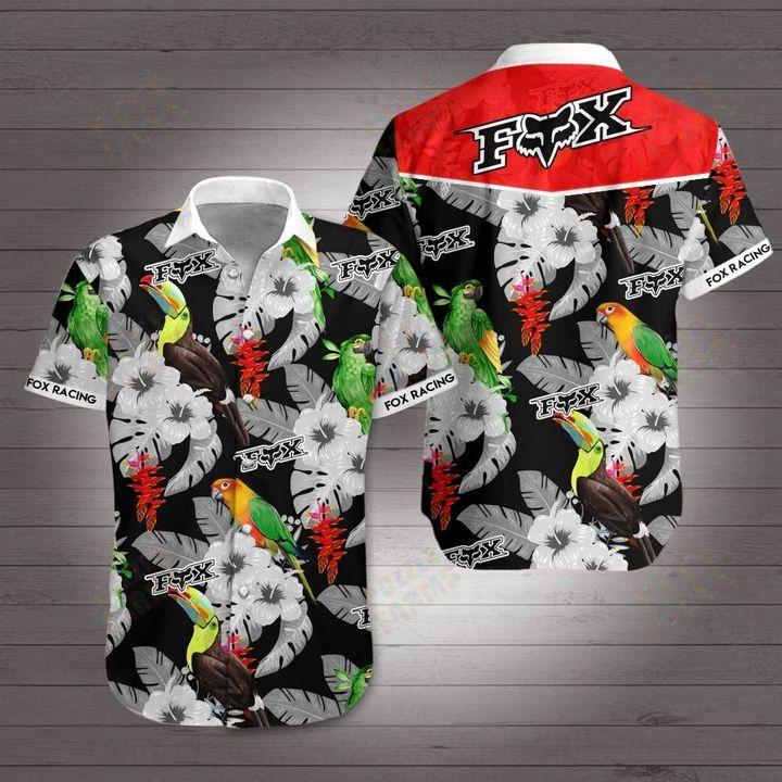 Fox racing hawaiian shirt 4