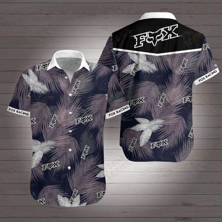 Fox racing motocross hawaiian shirt 3