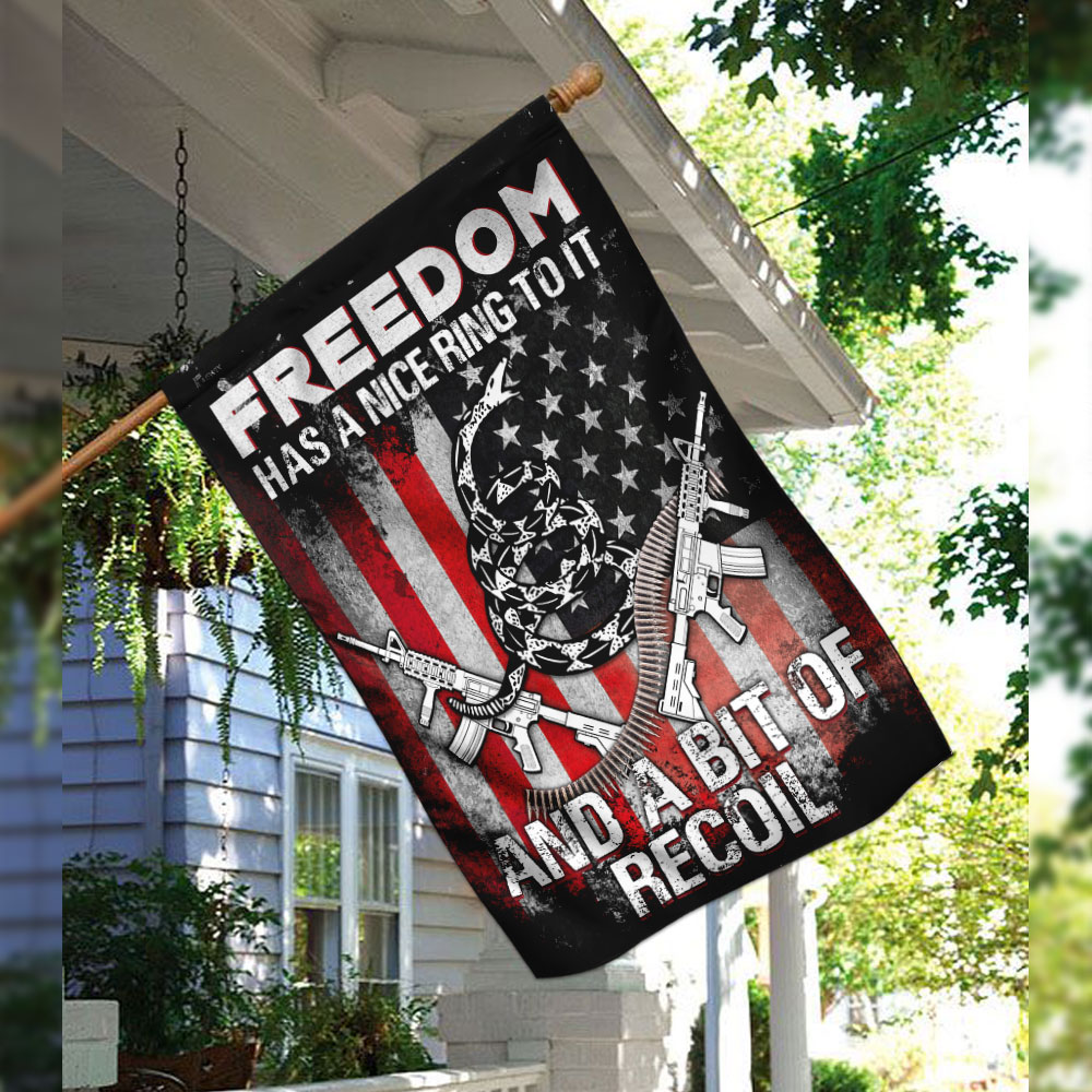 Freedom has a nice ring to it and a bit of recoil flag 2
