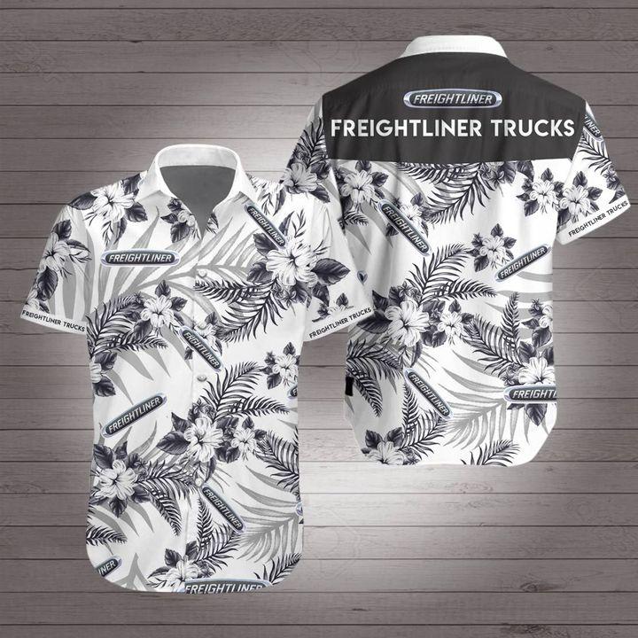 Freightliner trucks hawaiian shirt 4