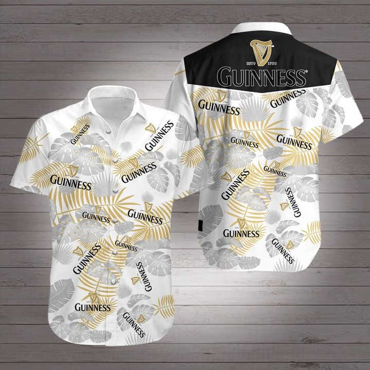 Guinness brewery beer hawaiian shirt 4