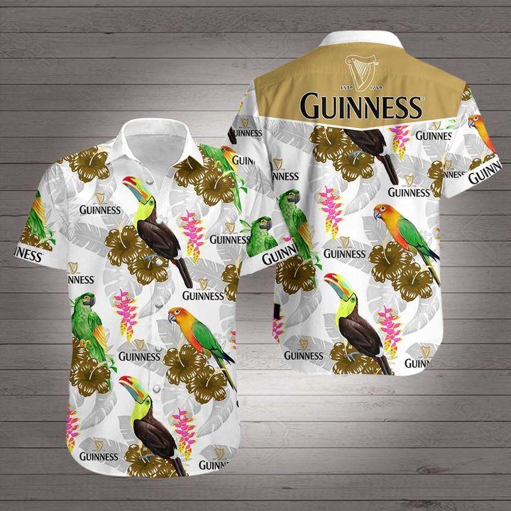 Guinness hawaiian shirt 2
