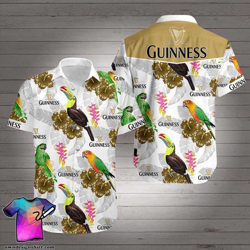 Guinness hawaiian shirt