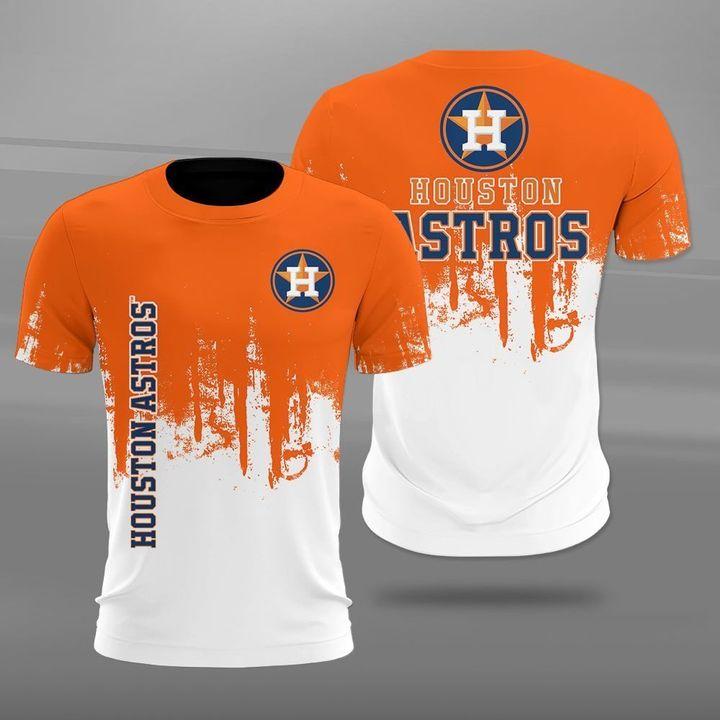 Houston astros team full printing tshirt