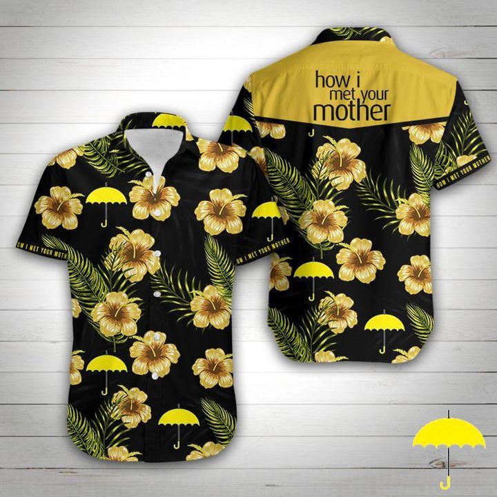 How i met your mother tropical flower hawaiian shirt 3