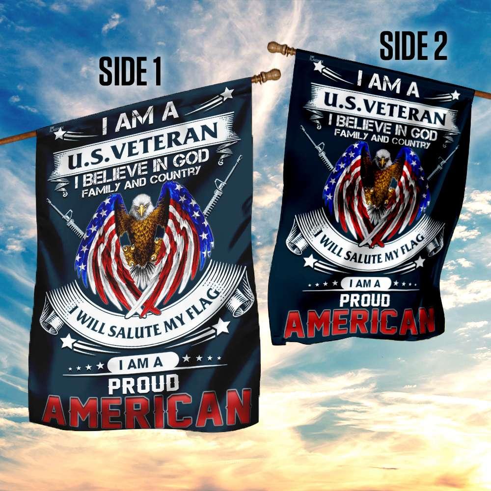 I am a us veteran i am a proud american flag 4