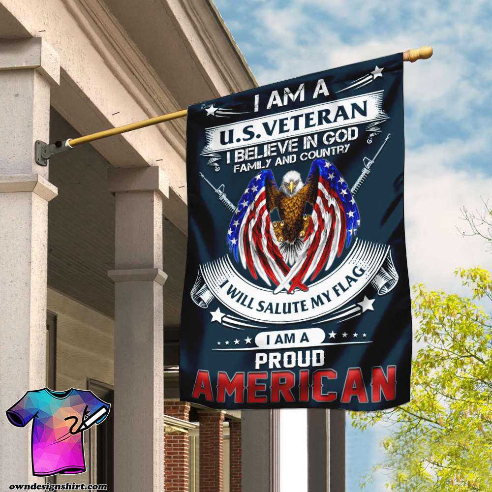 I am a us veteran i am a proud american flag