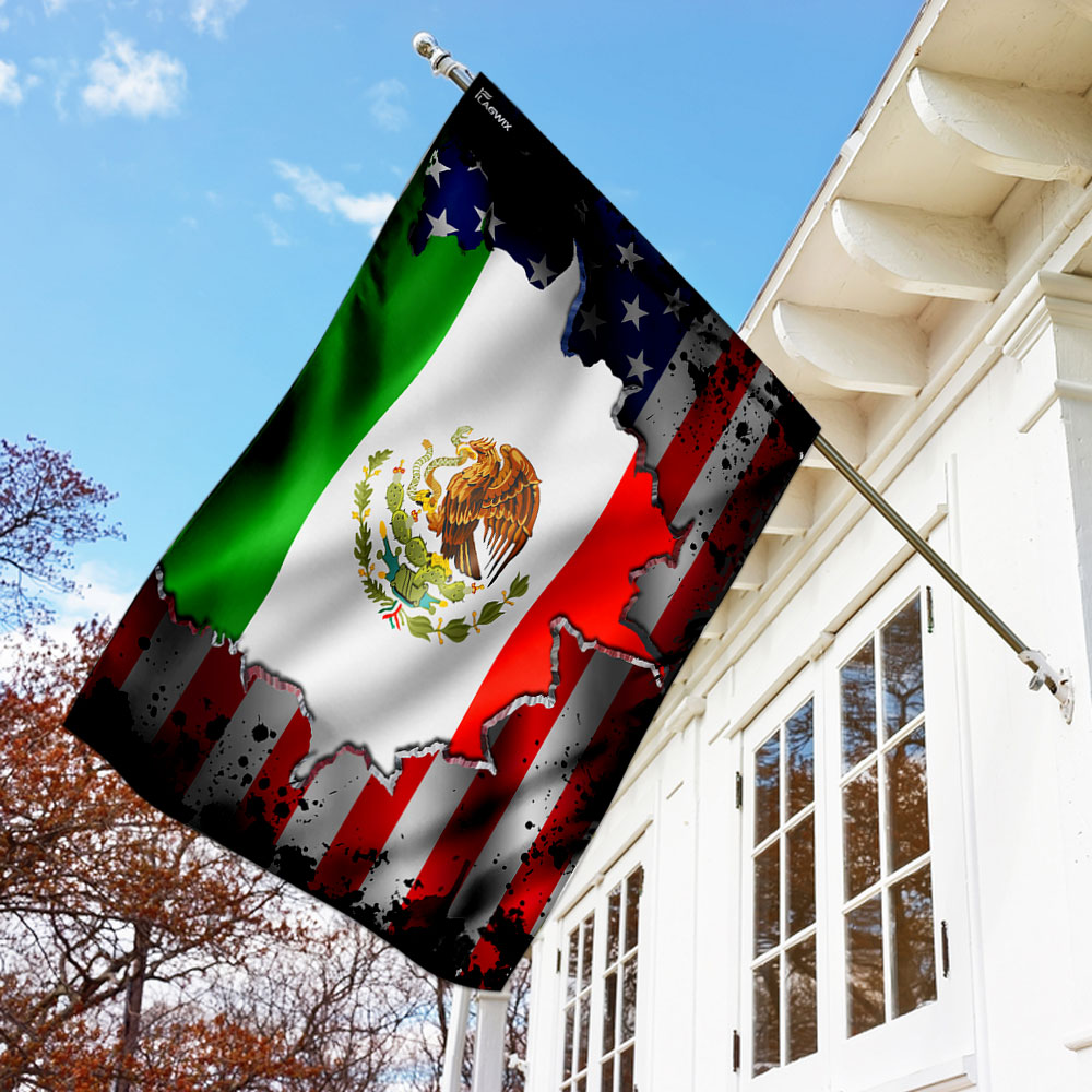 I may live in the usa but my story began in mexico flag 1