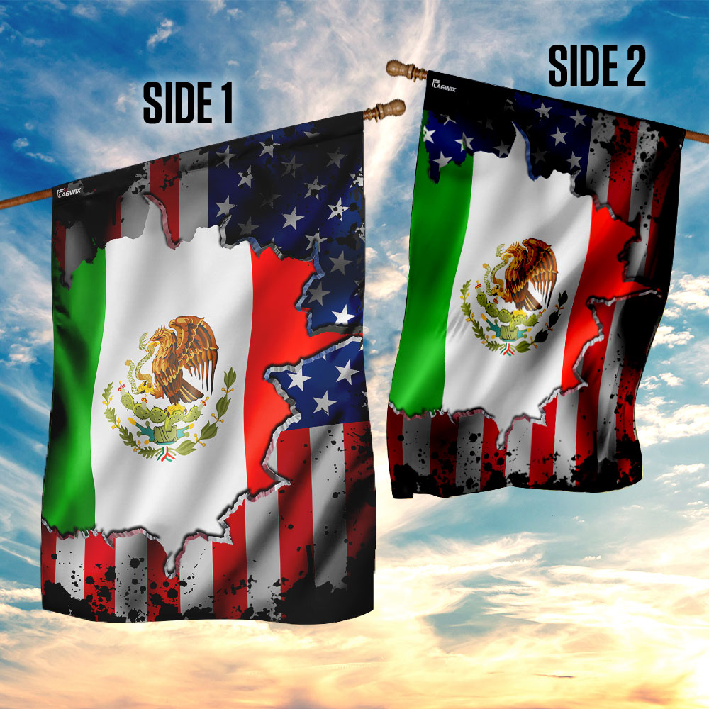 I may live in the usa but my story began in mexico flag 4