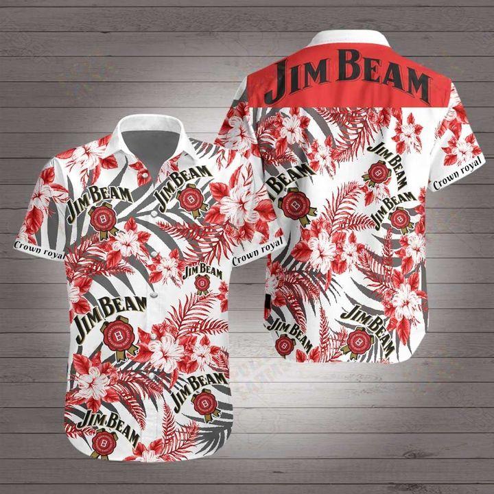 Jim beam hawaiian shirt 1
