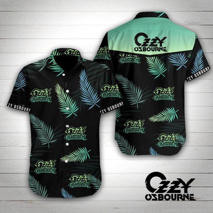 John michael ozzy osbourne tropical flower hawaiian shirt 4