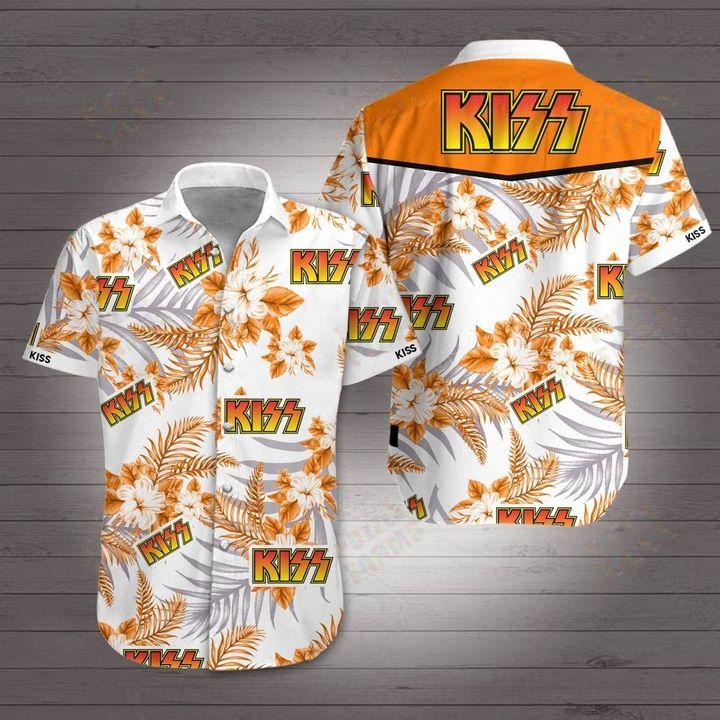 Kiss rock band hawaiian shirt 1