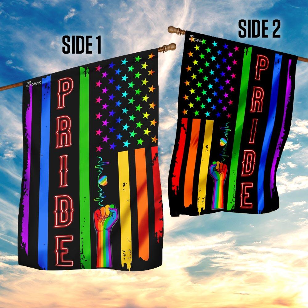 LGBT pride flag 4