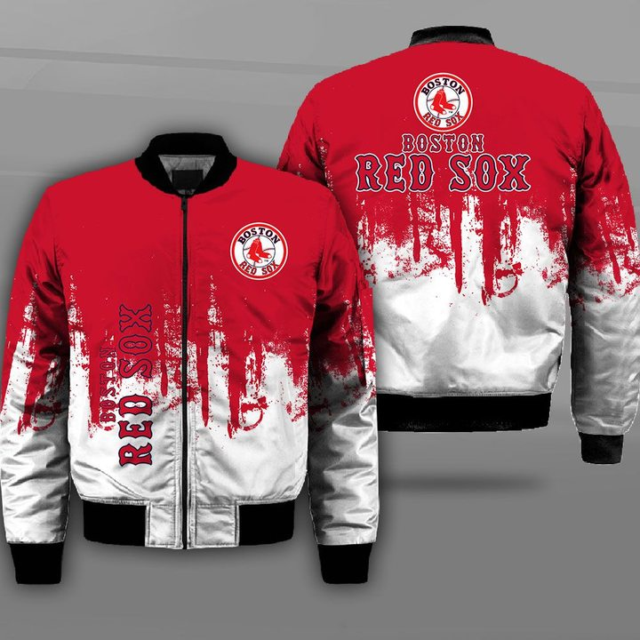 MLB boston red sox full printing bomber