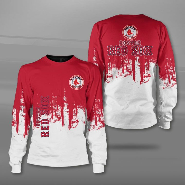 MLB boston red sox full printing sweatshirt