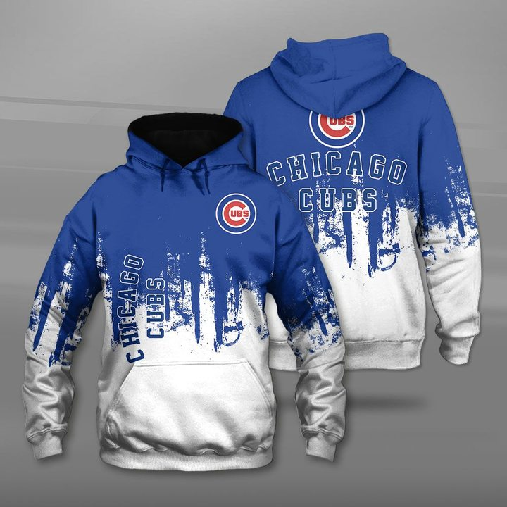 MLB chicago cubs full printing hoodie