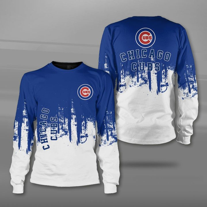 MLB chicago cubs full printing sweatshirt